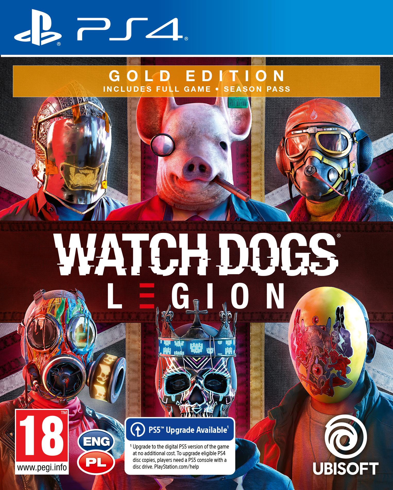 Watch Dogs: Legion Gold (PS4) + BONUS!