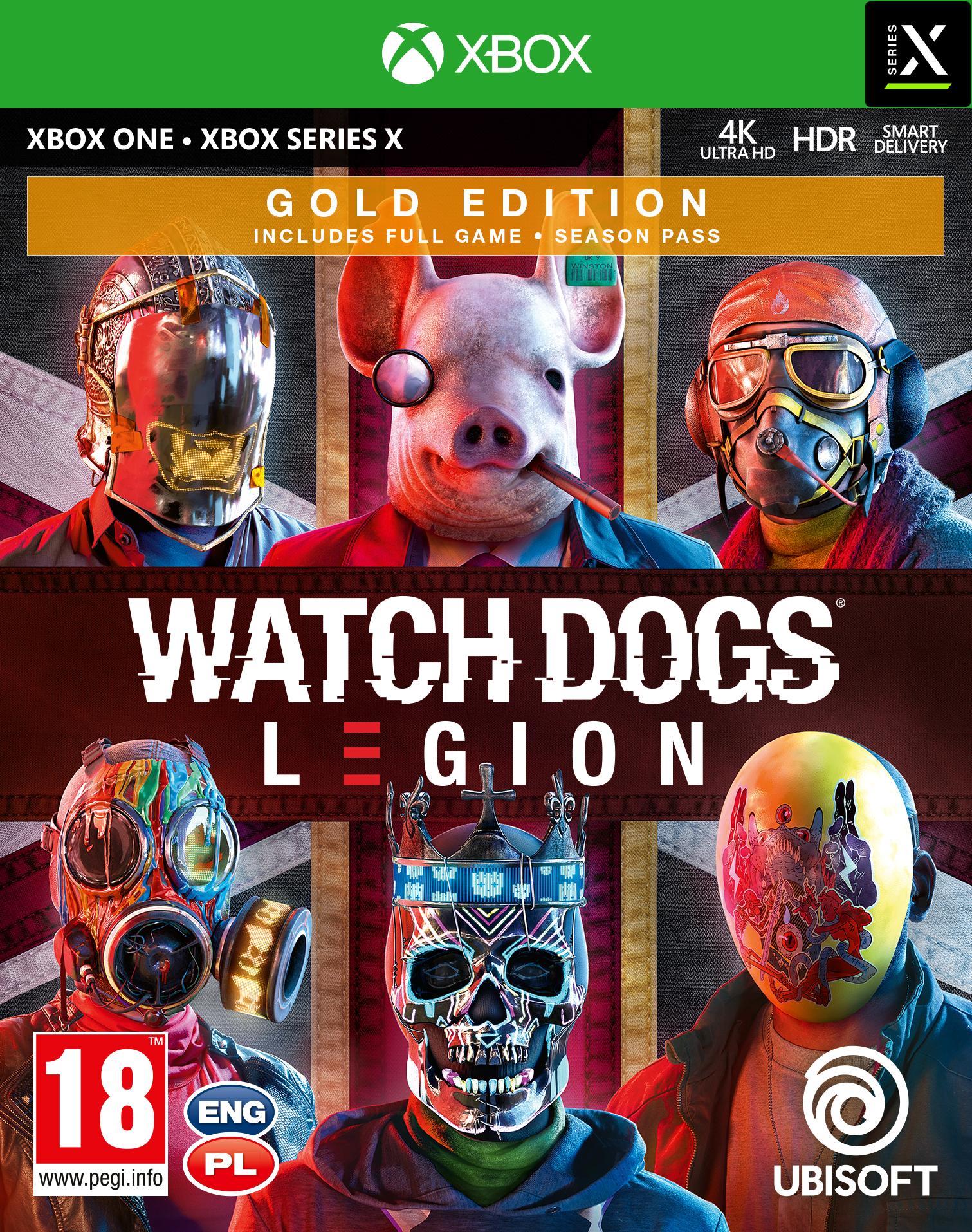 Watch Dogs: Legion Gold (XOne) + BONUS!