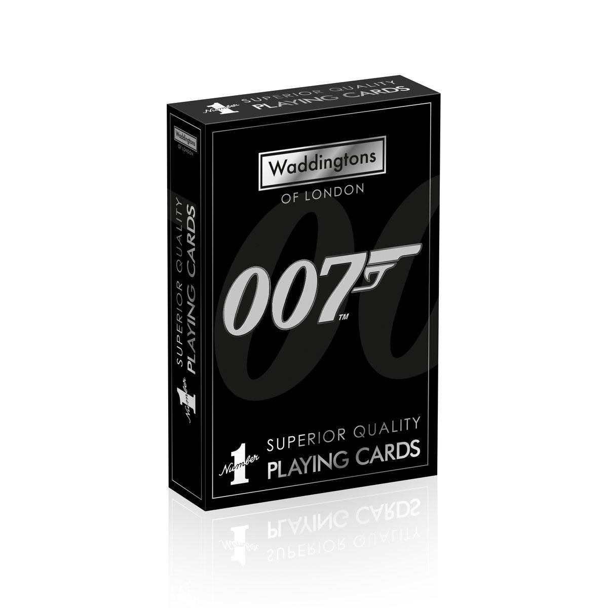 Karty do gry Waddingtons: James Bond 007