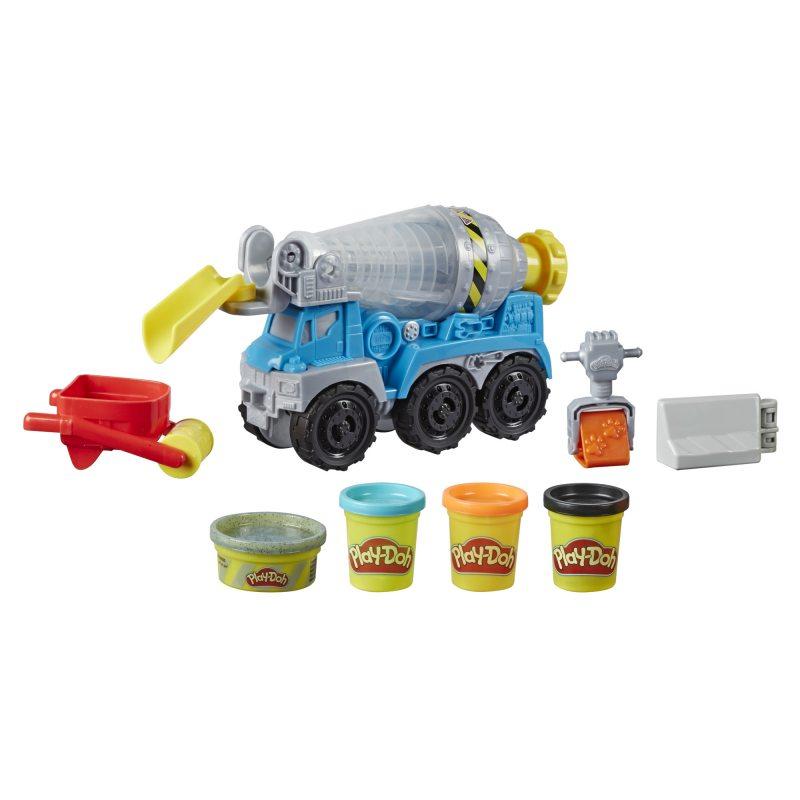 Ciastolina Zestaw betoniarka Play-Doh Wheels