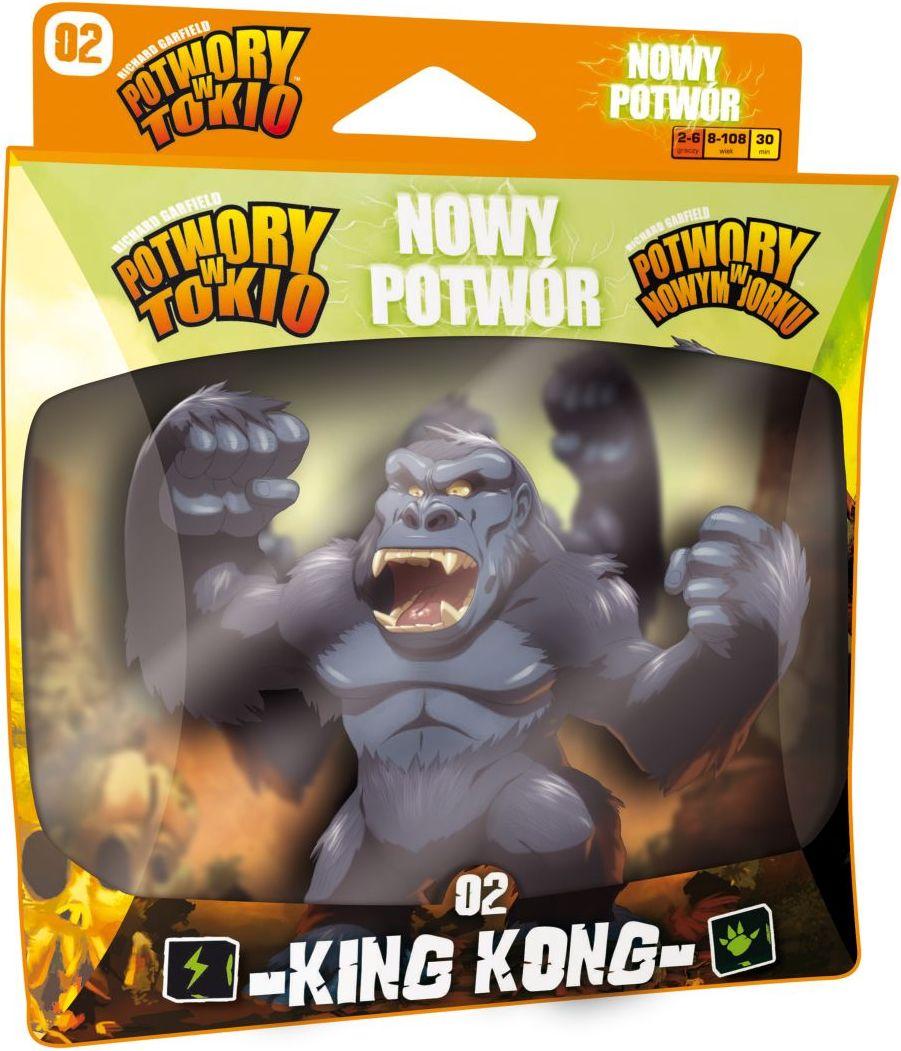 Potwory w Tokio: Nowy potwór - King Kong (Gra Planszowa)
