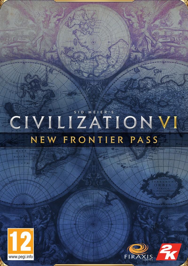 Civilization VI Przepustka New Frontier (PC) Klucz Steam