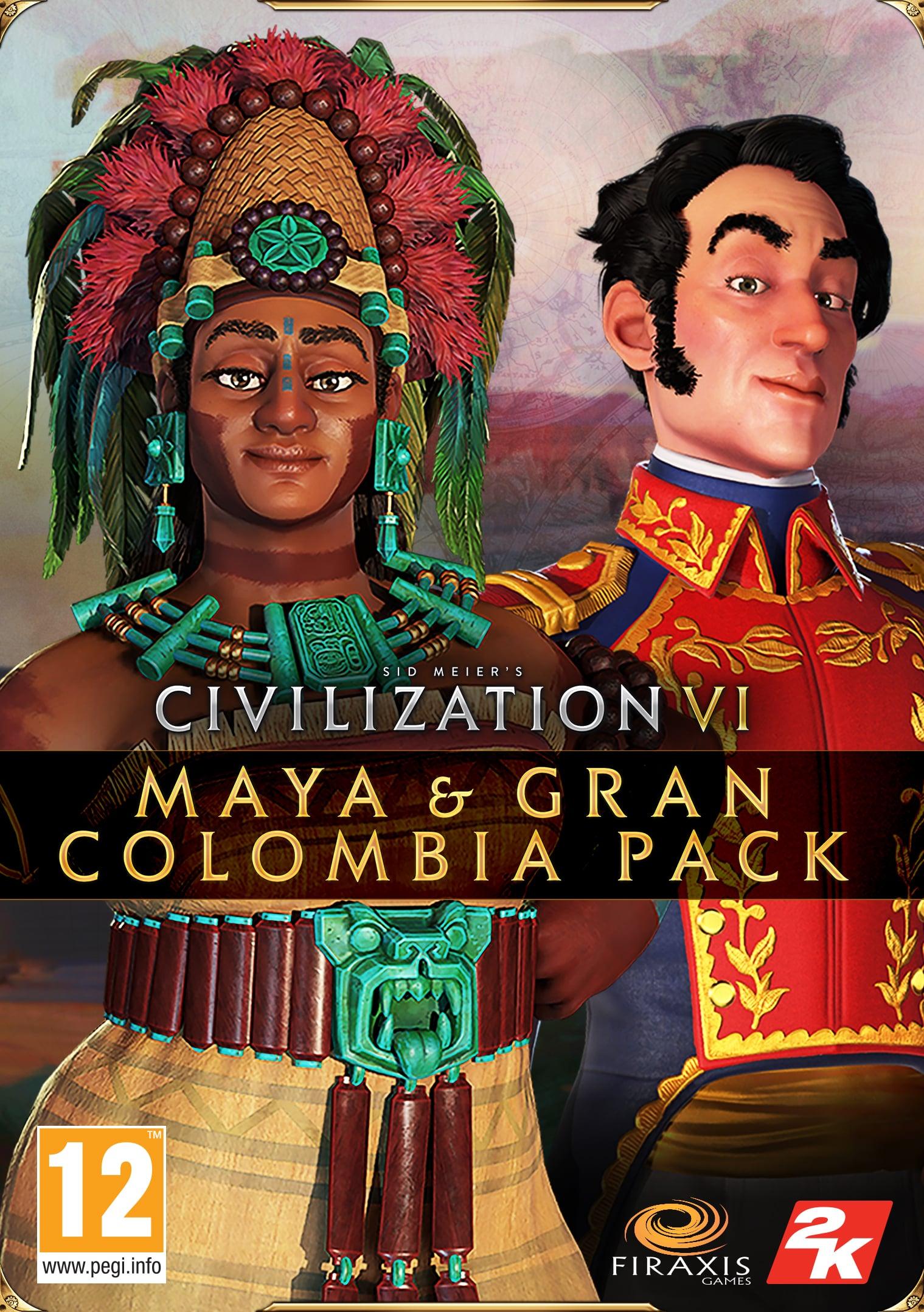 Civilization VI – Maya & Gran Colombia csomag (PC) Steam