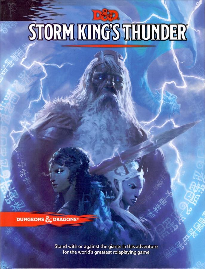 Dungeons & Dragons: Storm King's Thunder (edycja angielska)