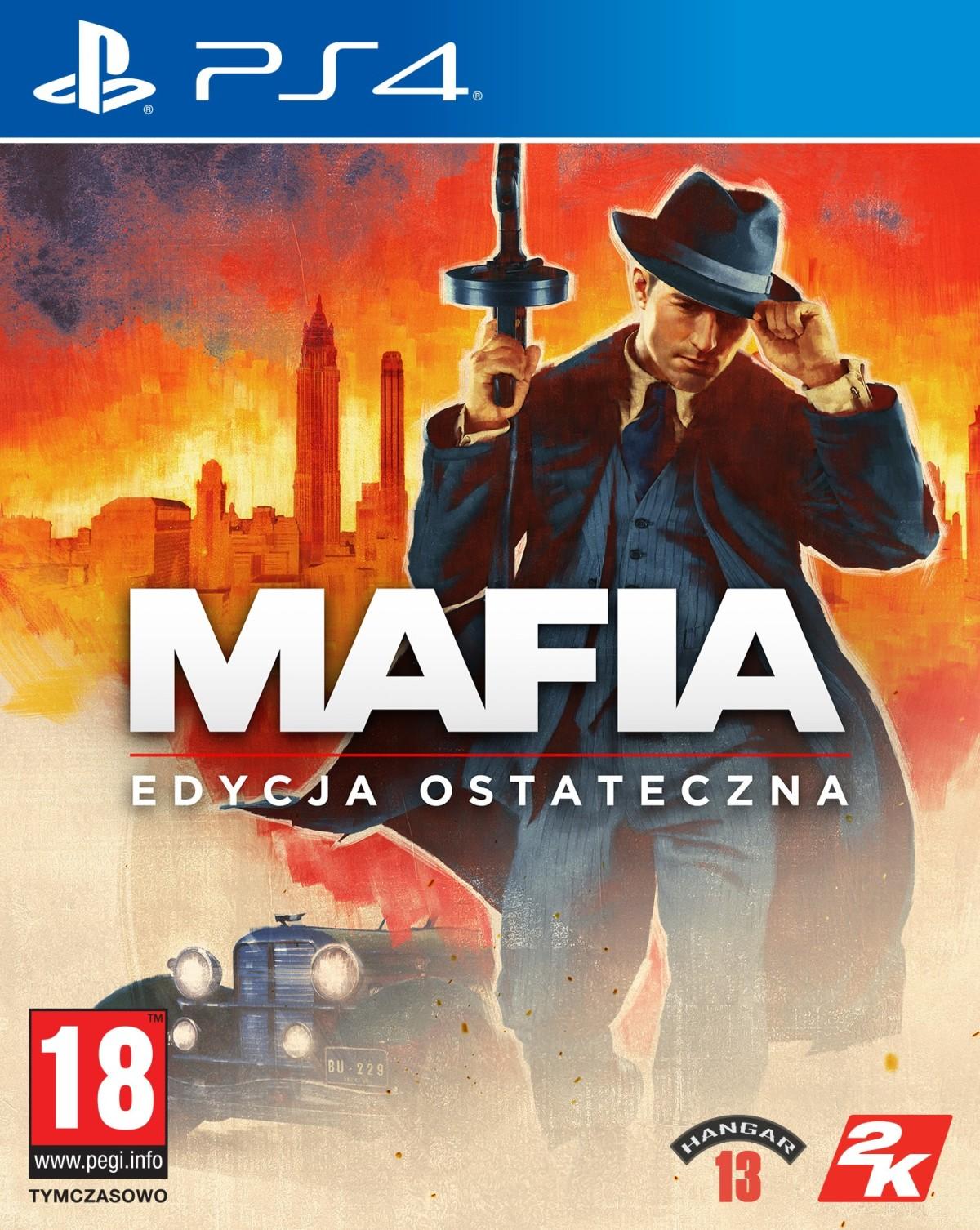 Mafia Edycja Ostateczna (PS4) + BONUS + Koszulka