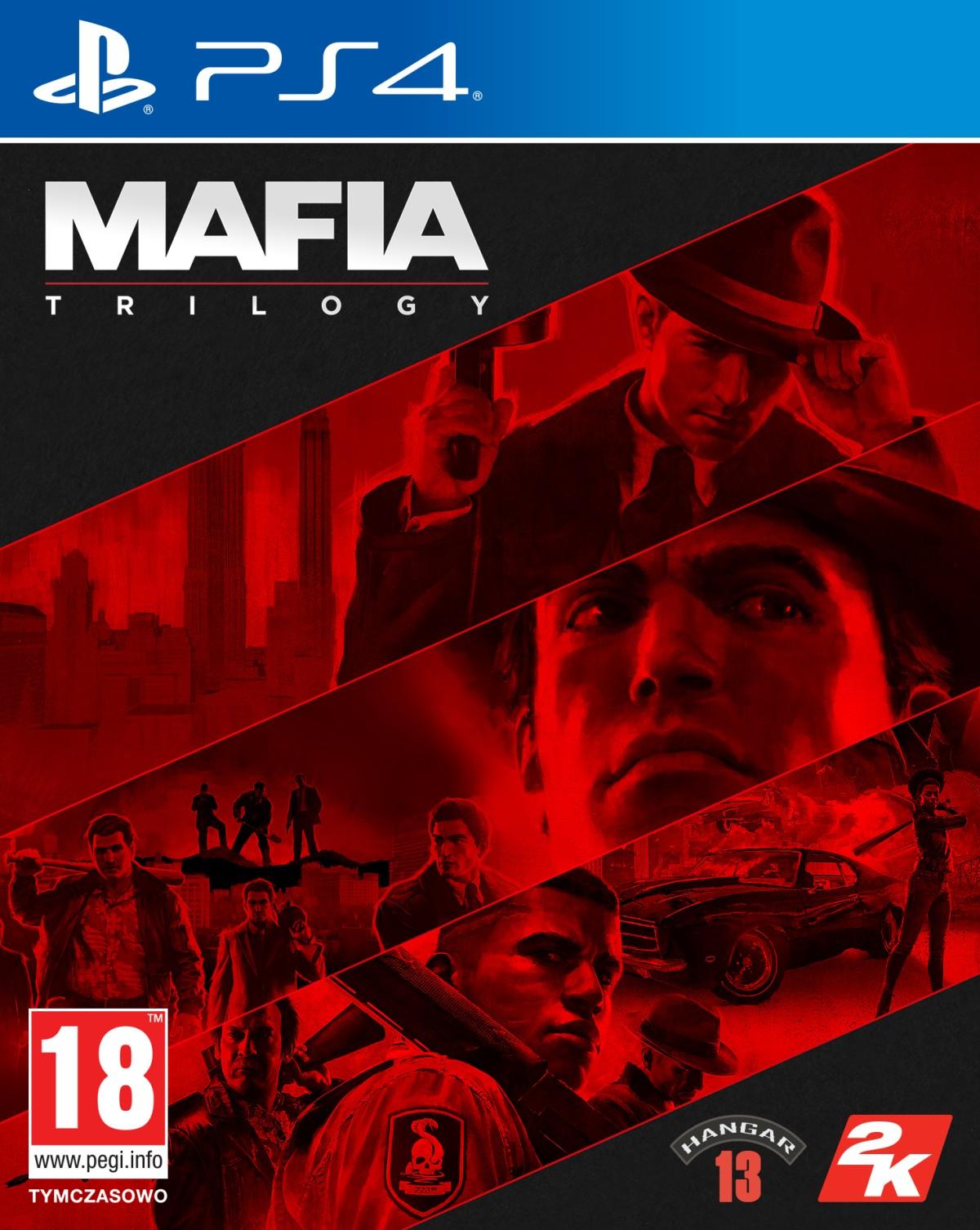 Mafia Trylogia (PS4) + BONUS + Koszulka