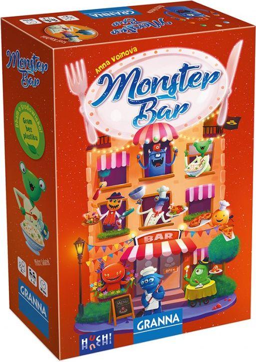 Monster Bar (edycja polska) (Gra Planszowa)