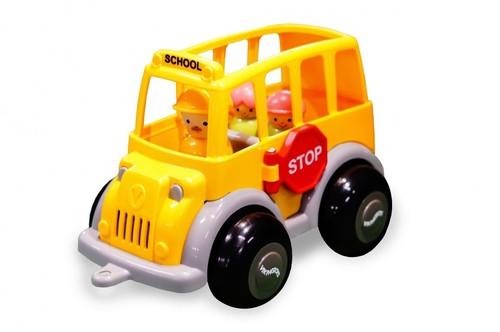 Autobus szkolny z 3 figurkami