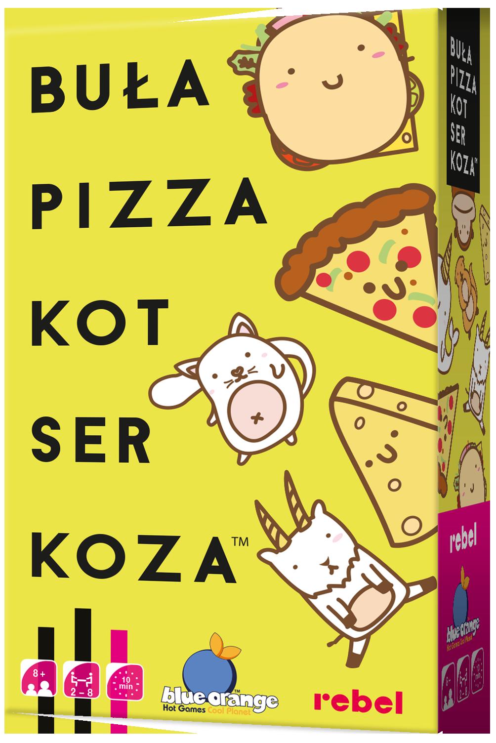 Buła, Pizza, Kot, Ser, Koza (Gra Karciana)