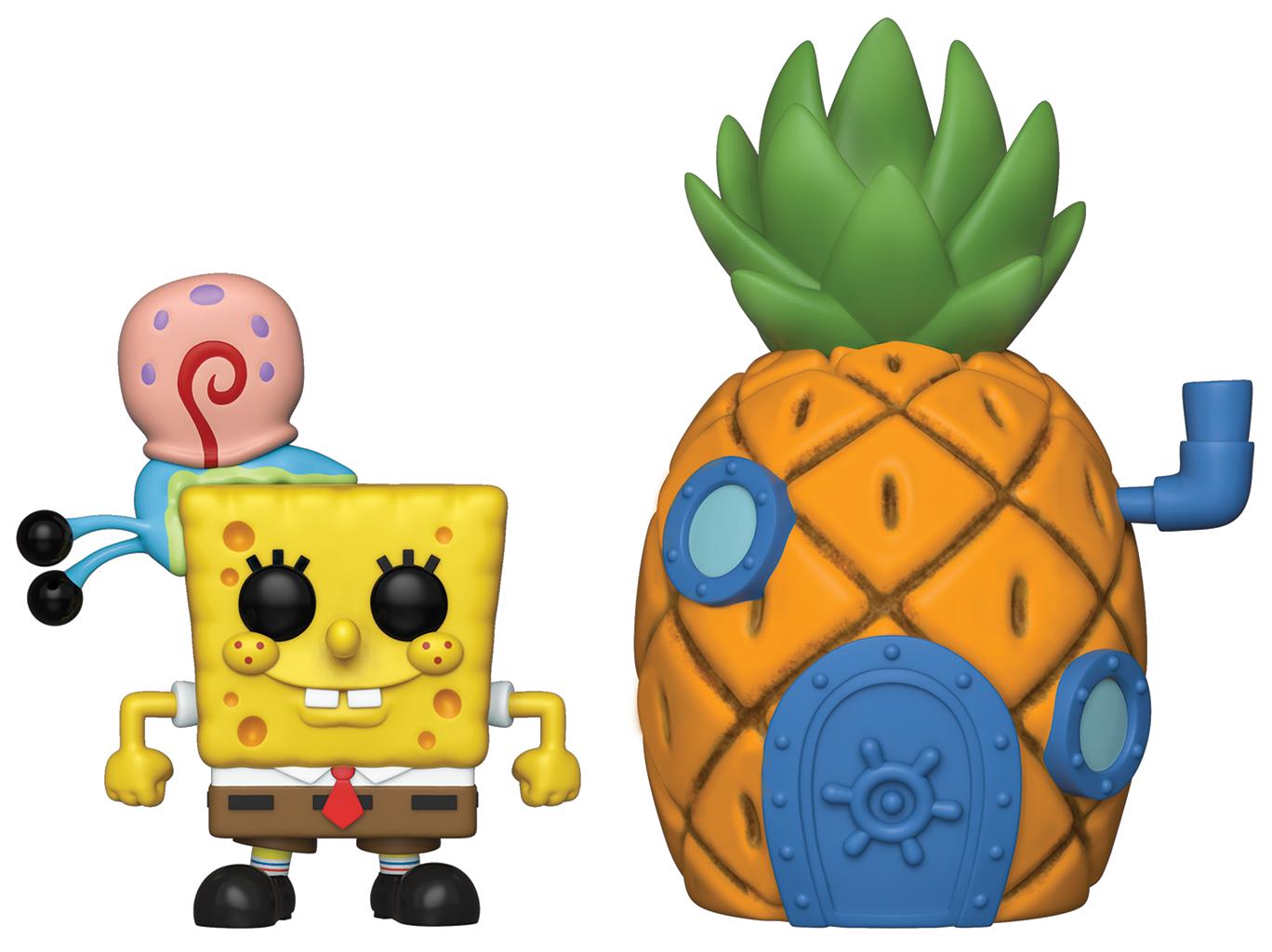 Funko POP Town: Spongebob w/ Pineapple