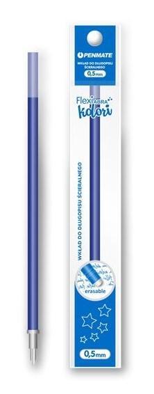Wkład do długopisu Flexi Abra Kolori niebieski