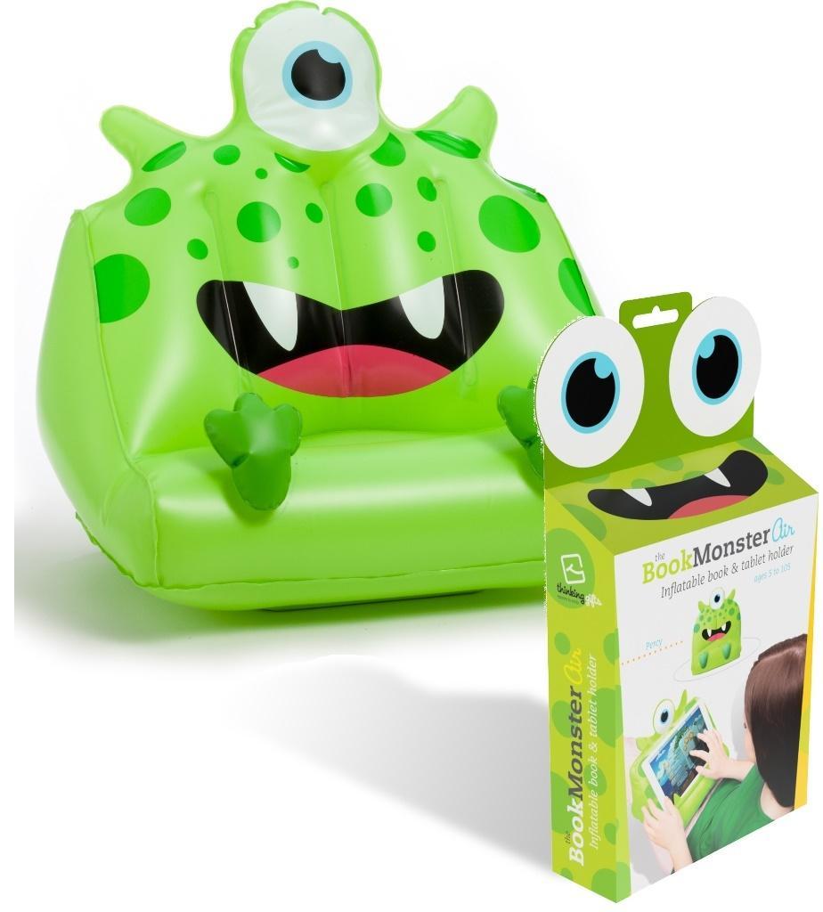 BookMonster Air Percy two teeth podstawka zielona