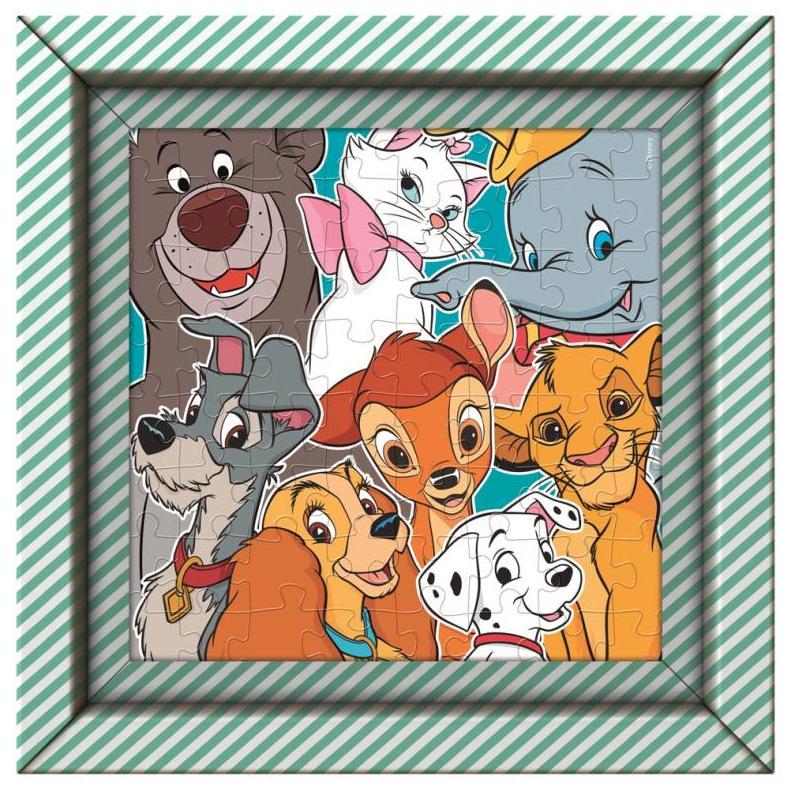 Puzzle 60 Frame Me Up Disney Animals