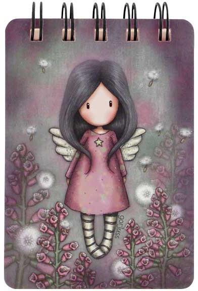 Mini kołonotatnik - Little Wings