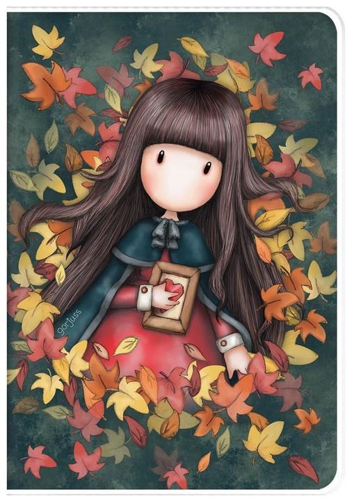 Zeszyt A5 w plastikowej okładce - Autumn Leaves