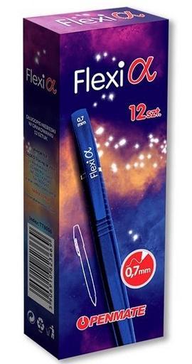 Długopis Flexi Alpha niebieski (12szt) PENMATE