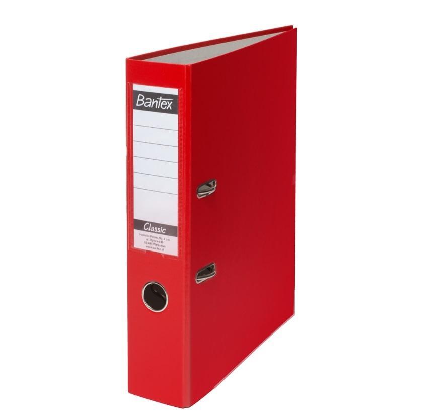 Segregator A4 Budget 7,5cm czerwony