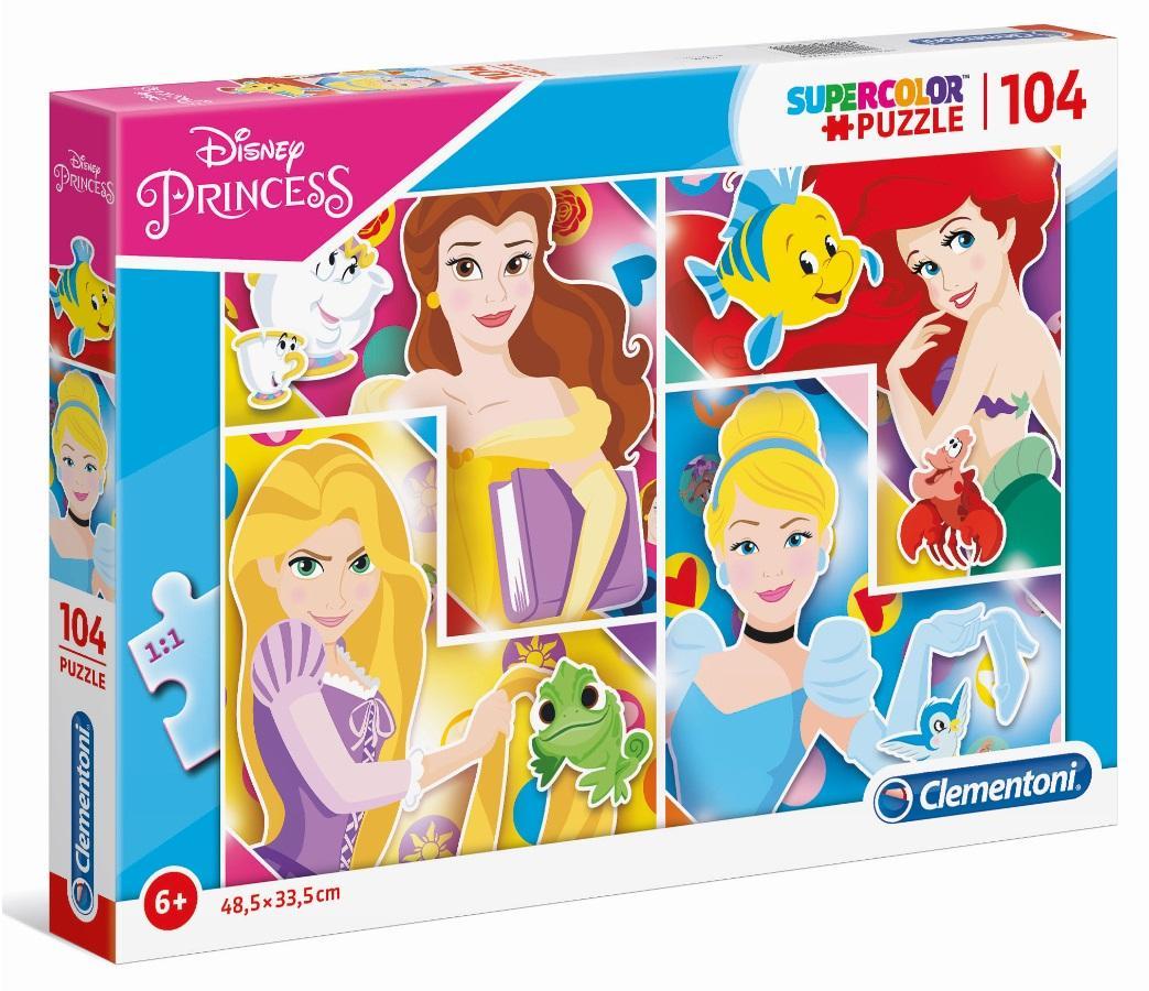 Puzzle 104 Super Color Princess