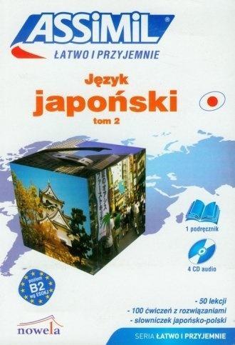 Japoński łatwo i przyjemnie T.2 + CD ASSIMIL