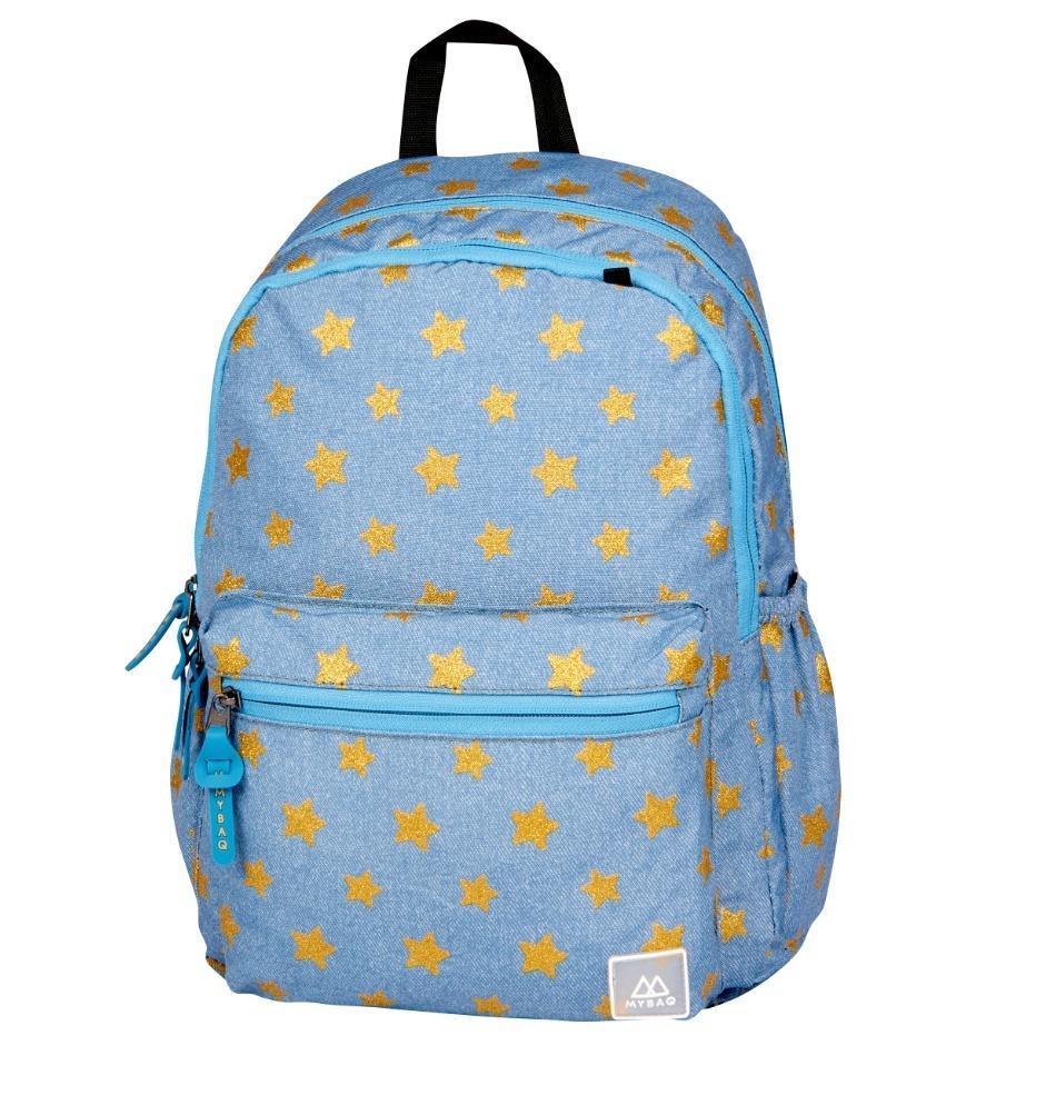 Plecak Wega Superstar niebieski MBQ