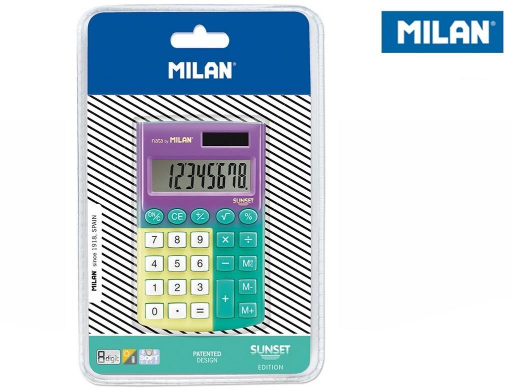 Kalkulator Pocet 8 pozycyjny MILAN