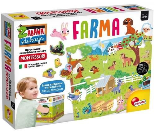Zabawa i edukacja Montessori Maxi Moja farma