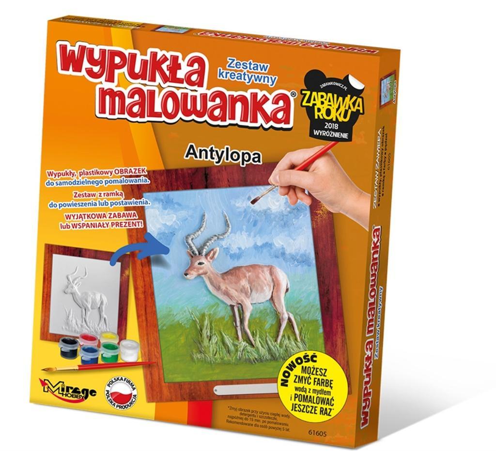 Wypukła Malowanka Zoo - Antylopa