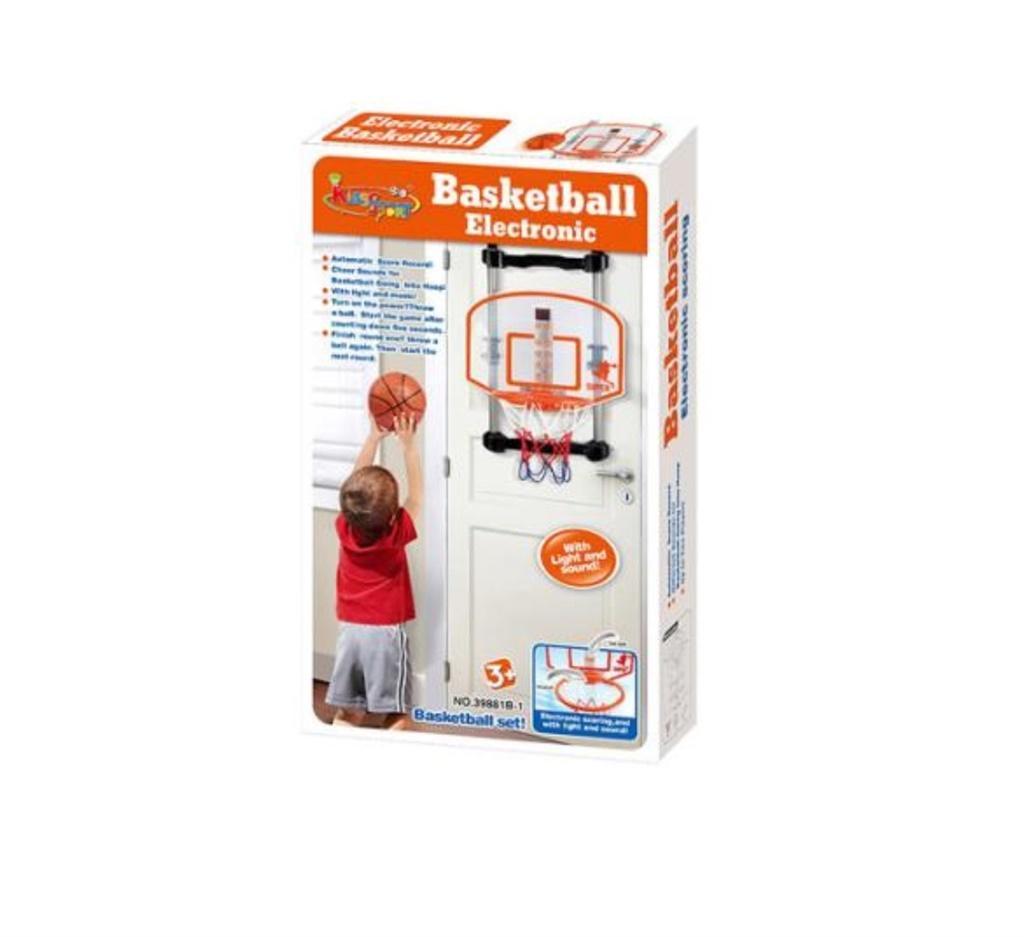 Elektroniczny kosz do koszykówki