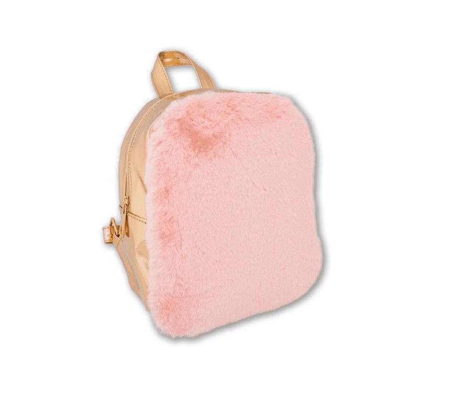 Plecak pink&gold STnux