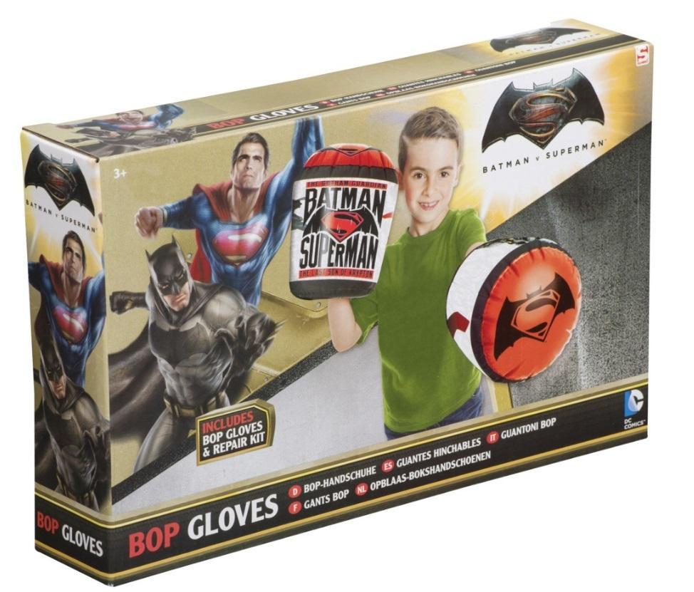 Zestaw bokserski rękawice Batman vs Superman