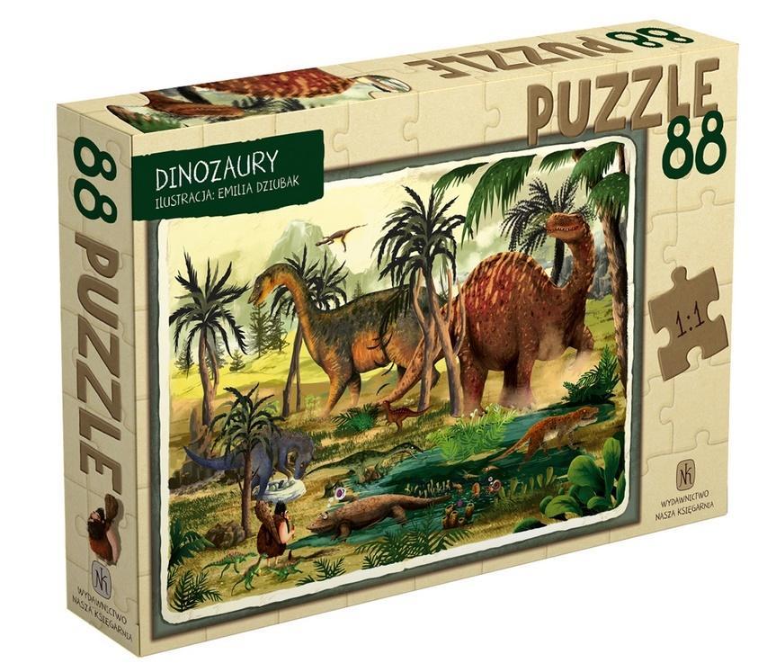 Puzzle 88 Dinozaury