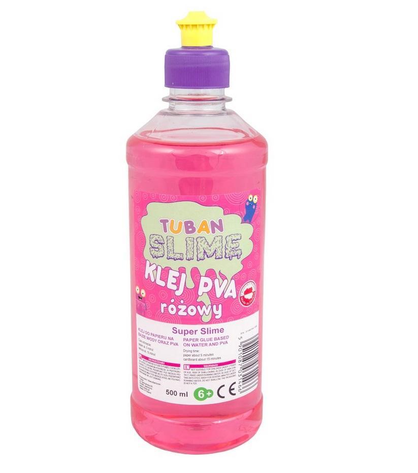 Klej różowy PVA 500ml TUBAN