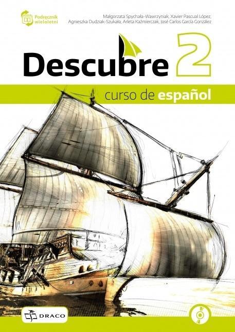 Descubre 2 podręcznik + CD NPP DRACO