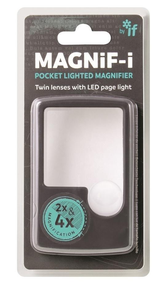 Magnifi-i Lupa z podświetleniem