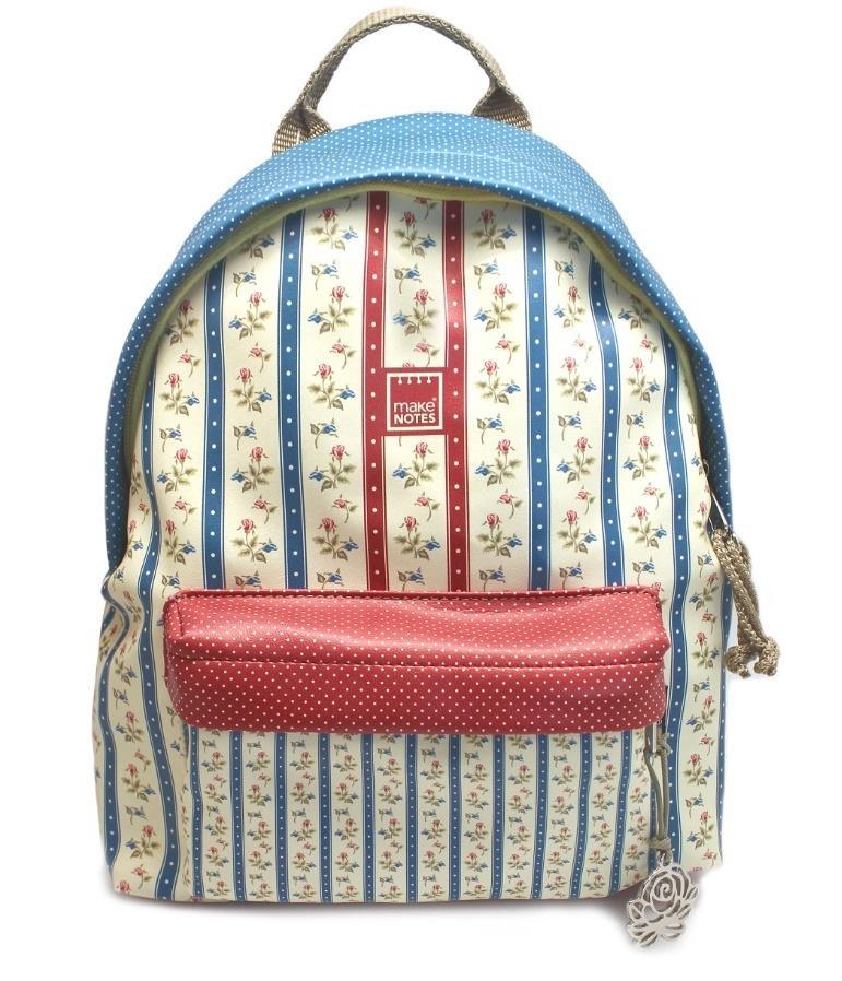 Vintage B Plecak mały paski