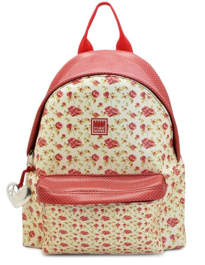 Vintage B Plecak duży kwiaty
