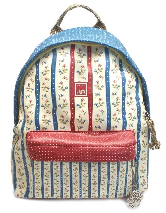 Vintage B Plecak duży paski