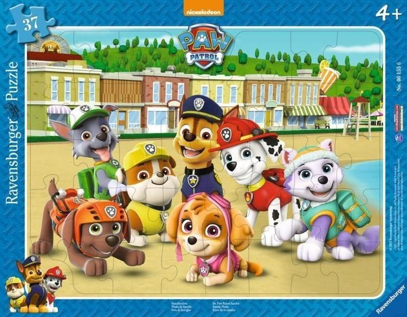 Puzzle 37 Psi Patrol - Rodzinne zdjęcie