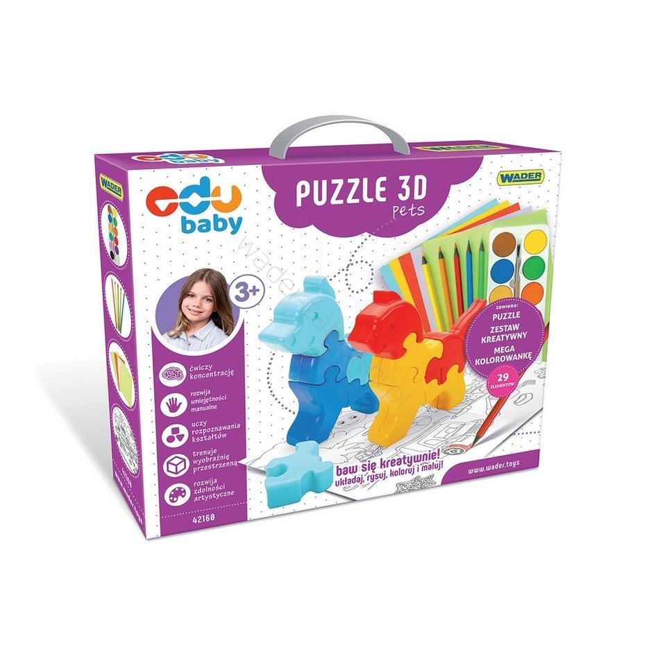 Puzzle Zoo 3D Pets
