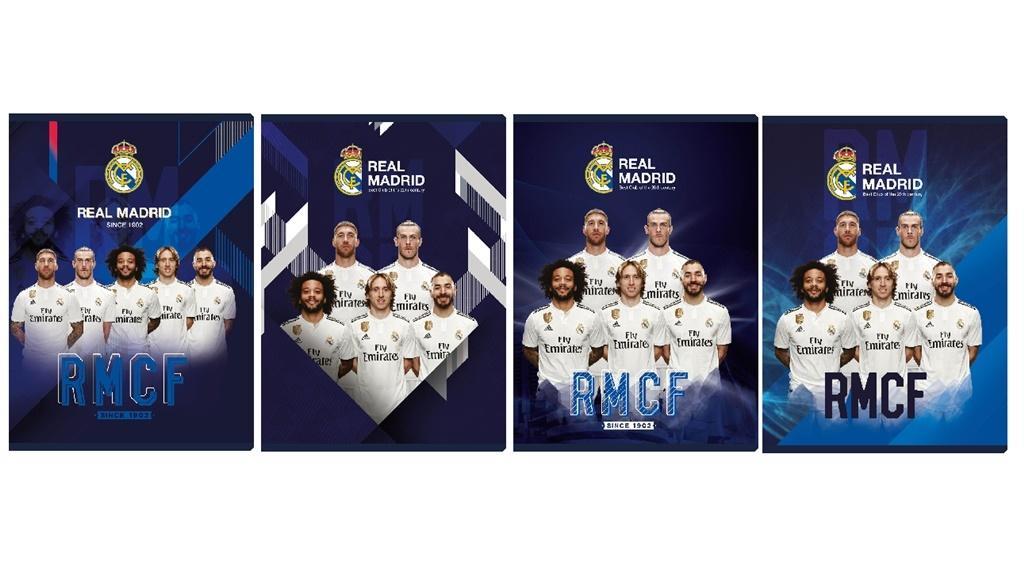 Zeszyt MO A5/16K kratka Real Madrid5 (20szt) ASTRA