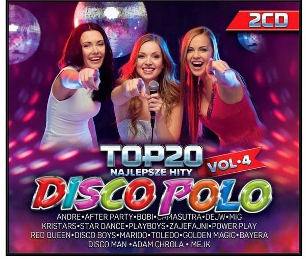 Top 20 Najlepsze Hity Disco Polo vol. 4 (2 CD)