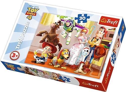 Puzzle 30 Toy Story Gotowi do zabawy TREFL
