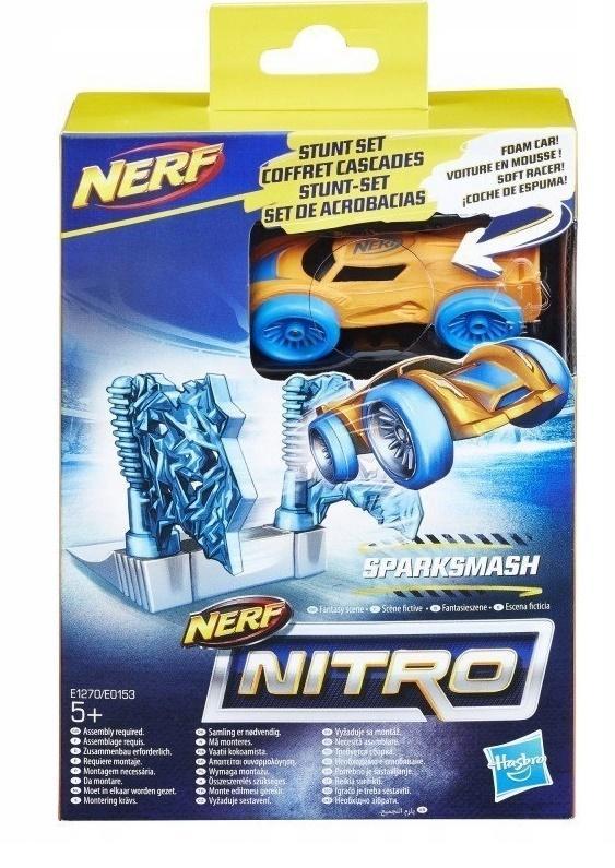 NERF Nitro Samochodzik z przeszkodą Sparksmash
