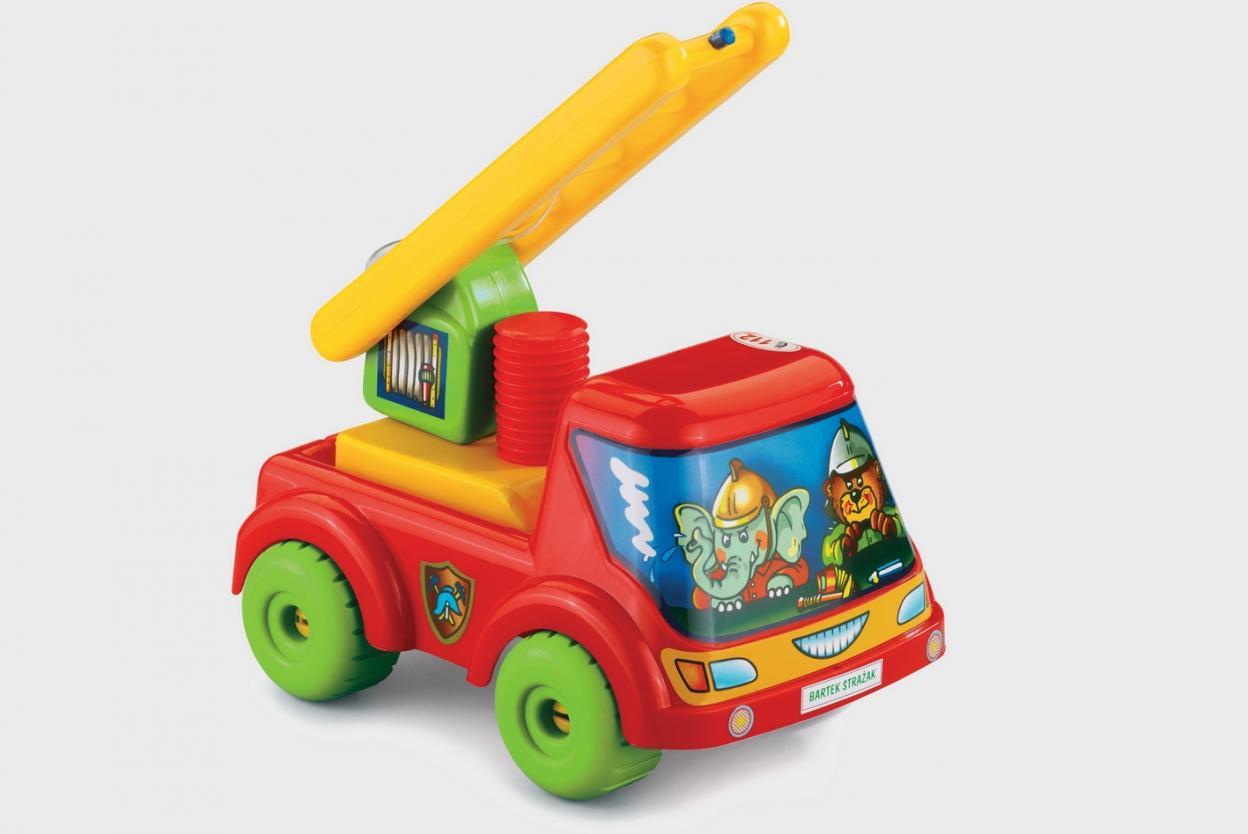 Samochód Bartek Strażak
