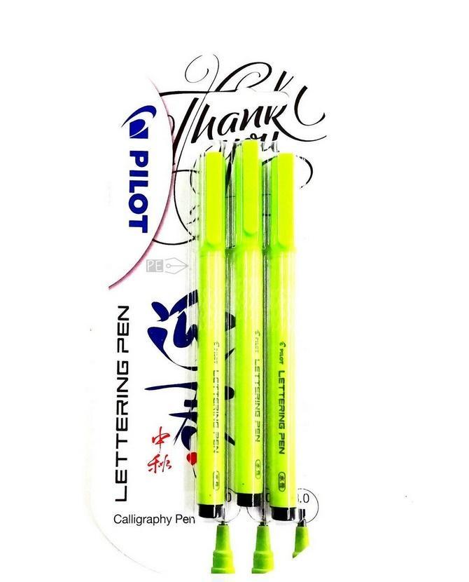 Marker do kaligrafii Lettering pen BLX3 3szt PILOT