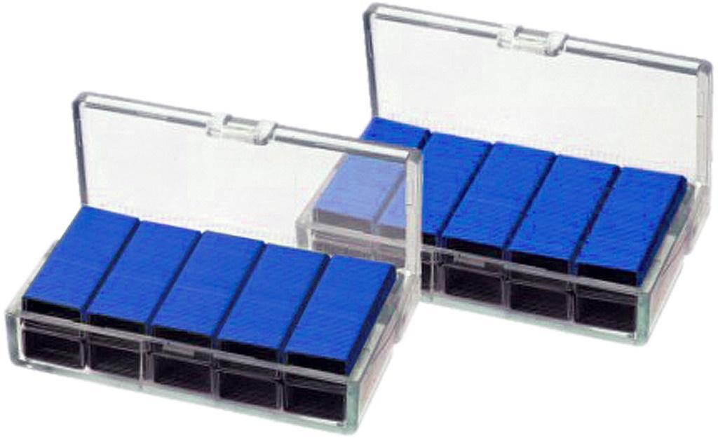 Zszywki nr 10 x 1000szt niebieskie KANGARO