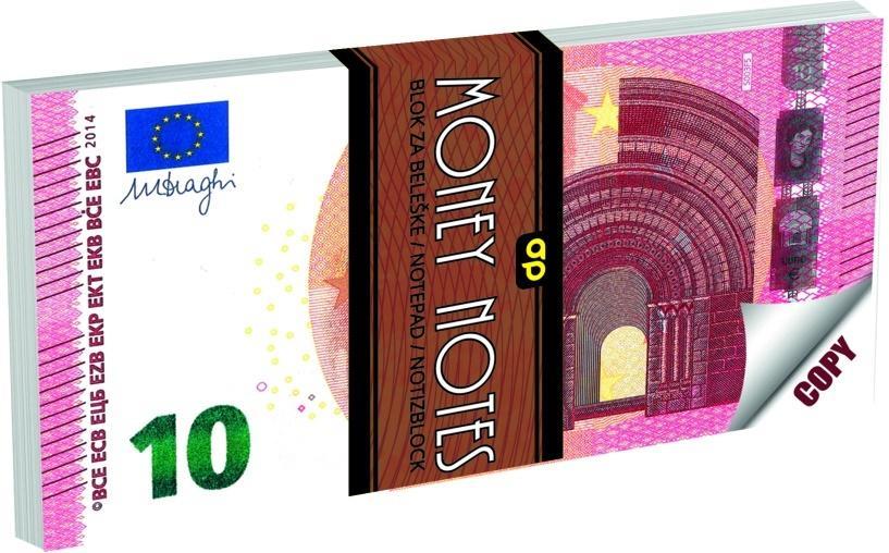 Notes 70K 10 Euro