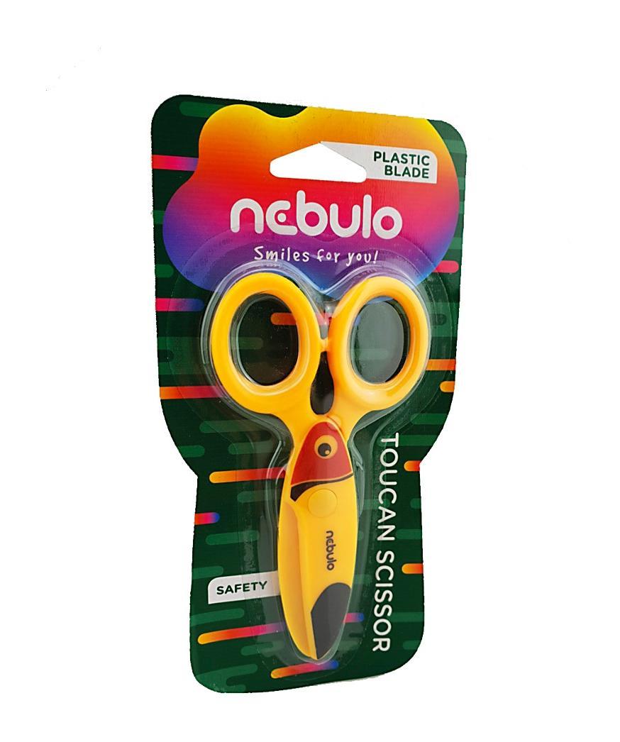 Nożyczki dziecięce Tukan NEBULO