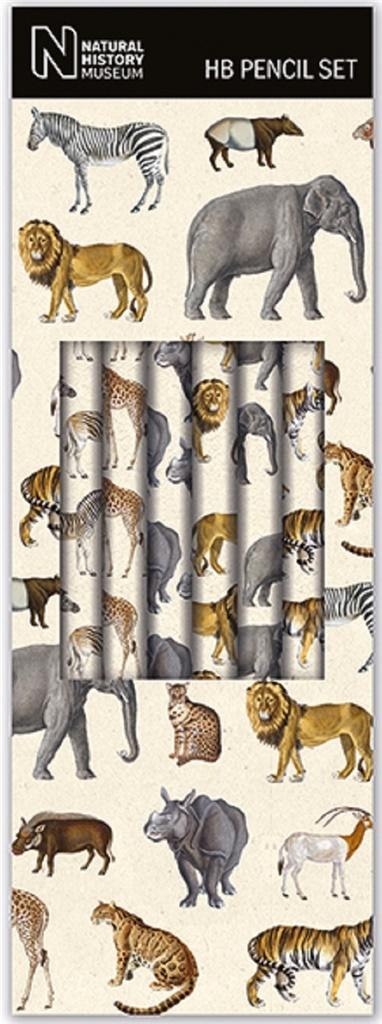 Ołówek ozdobny Safari (6szt)