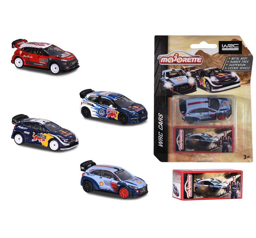 Majorette WRC 4 rodzaje